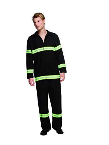 Smiffys Disfraz Fever de Bombero, Chaqueta y Pantalones