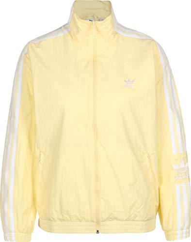 adidas Chaqueta de nailon para mujer, color amarillo amarillo 36