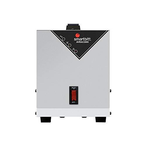 Smartbitt Regulador de Voltaje – Hogar y Oficina – Supresión de Picos – Protección de Equipos (2000 Va,…