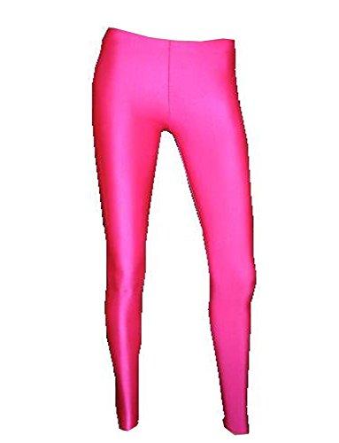 Neon UV Lycra-Leggings Gr. S/M, hot pink