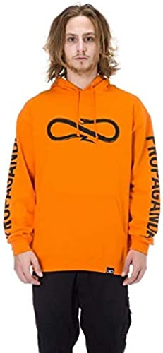 PROPAGANDA - Sweat-Shirt à Capuche - Homme Orange Arancio