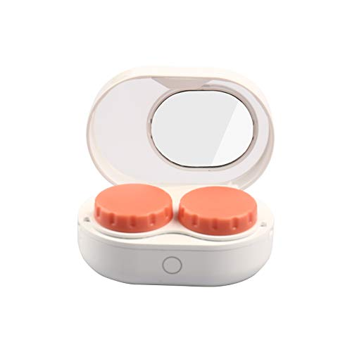 Mini Portable Contact Lens Cleaner Machine, 3 Minutes Automatic Contacts...