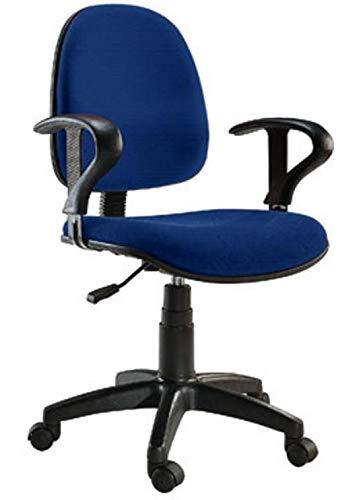 Techly 307490 Sedia per Ufficio Easy Colore Blu Blu
