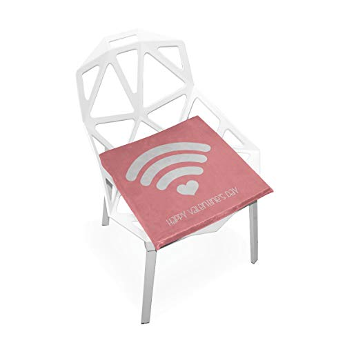 Lindo WiFi Icono de Dibujos Animados Suave Antideslizante Cuadrado Espuma de Memoria Silla...