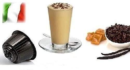 Capsule Compatibili Nescafè Dolce Gusto, 32 Capsule Miscela 'Cappuccino alla Vaniglia' Linea espresso