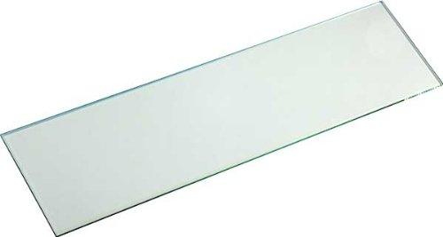 IB-Style - Glasboden SATINIERT 8 mm | klar und satiniert | 9 Abmessungen | Glasscheibe Glasplatte für Glasregal SATINIERT - 600x300 mm