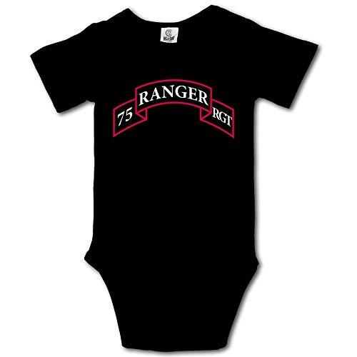 Pastcloud Baby Clothes Army 75st Ranger Regiment Babies Boys Clothing Unisex Onesie for Infant