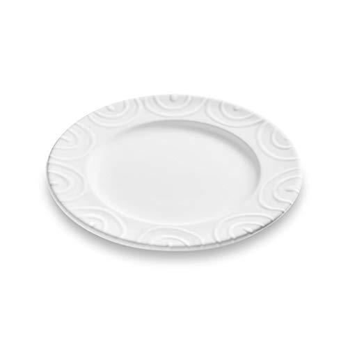 GMUNDNER KERAMIK Gourmet - Plato de Postre (cerámica, 18 cm de diámetro, vajilla, Hecho a Mano en Austria)