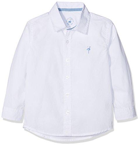 EL FLAMENCO Jungen Casual Freizeithemd, Weiß (Blanco 2), Jahre (Herstellergröße: 10)