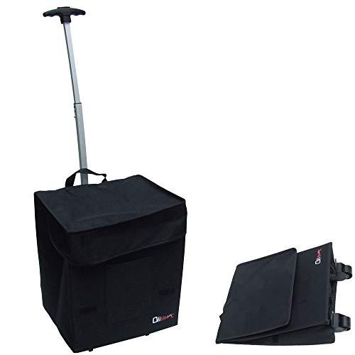 Einkaufstrolley, faltbar, sehr geringer Platzbedarf, 1,8 kg, 50 kg