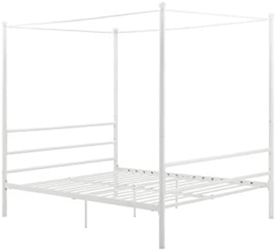 Amazon Com Dhp Modern Canopy Bed Frame Classic Design
