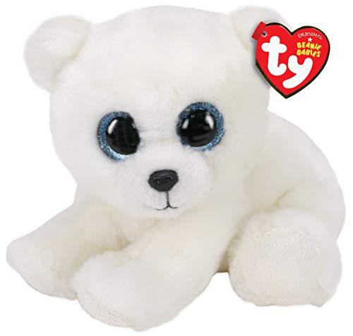 Beanie Babies - Peluche Ari l'ours polaire 15 cm