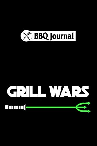 BBQ Journal: bbq grill wars caravan holiday backpacker gift : 6x9 110 pages notebook