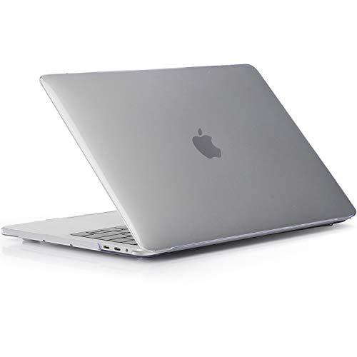 ProCase MacBook Pro 16 Zoll 2019 Abdeckung, Ultraflaches, durchscheinendes, gummibeschichtetes Hardcover Gehäuse für MacBook Pro 16-Zoll-Modell A2141 -Kristal
