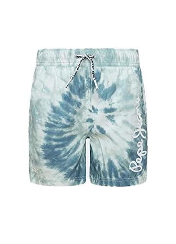 Pepe Jeans MOGLY Troncos de natación, 537turquoise, 14 para Niños