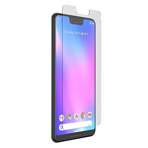 ZAGG InvisibleShield Glass+ VisionGuard – blockiert schädliches hochergieriges sichtbares (HEV) blaues Licht und 99% des UV-Lichtes von Ihrem Gerät – Hergestellt für Google Pixel 3XL