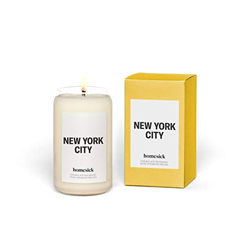 Homesick Scented Candle, New York City (2020 Version)