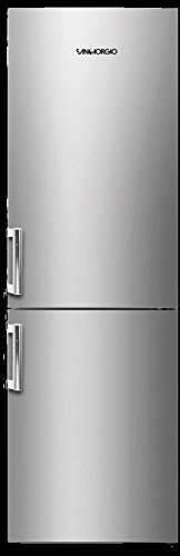 SanGiorgio SC36NFX Libera installazione 326L A+ Acciaio inossidabile frigorifero con congelatore