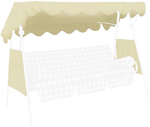 Angerer Tetto del Dondolo 200 x 120 cm, qualità Swingtex, Colore Avorio