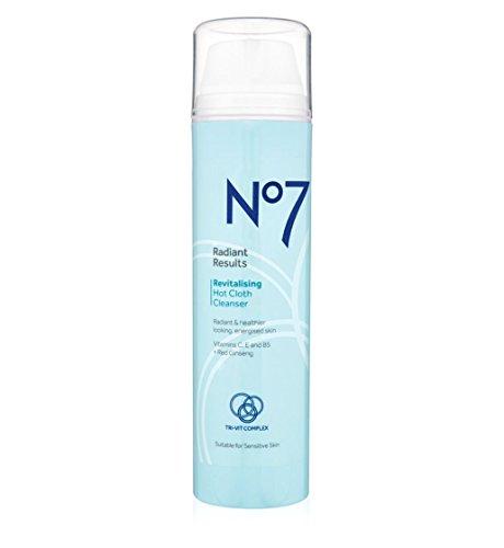 No7Brilliante Ergebnisse Revitalisierende Hot Tuch Cleanser 200ml