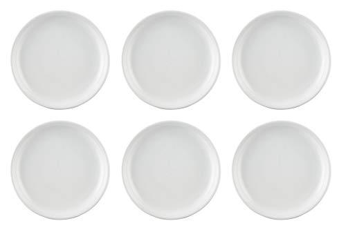Lot de 6 assiettes 26 cm-trend plafonnier blanc