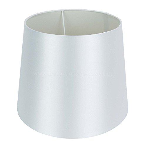 Lampenschirm Satin 22 x 28 x 22 cm weiß
