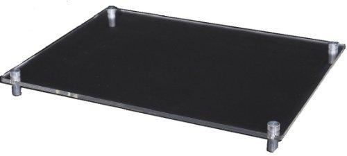 ホビーベース モデルベース Lサイズ アクリルベース/アルミ支柱 W270×D200×厚さ2mm PPC-K42 ディスプレイス...