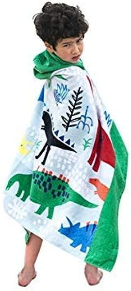 NOUSION 儿童沙滩巾儿童浴巾 100 纯棉运动毛巾卡通盖毯男女儿童