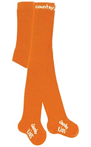 Country Kids C005 Orange Months Chaussettes, Unique (Taille Fabricant: 0-6 Mois) Fille