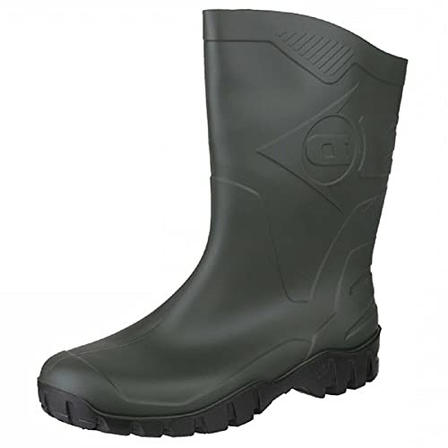 Dunlop Protective Footwear Unisex-Erwachsene Dee Gummistiefel, Grün (Green/Black), 43 EU