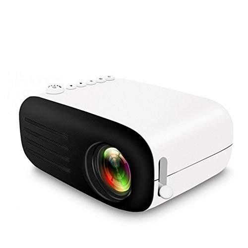 Mini Beamer Filmprojektor 1080P Drahtlose Spiegelung Kompatibel mit Laptops und Smartphones Smartphone-Bildschirm synchronisieren Heimkino