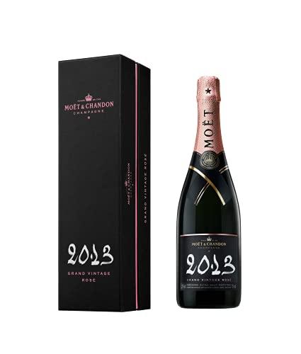 Moet & Chandon Champagne GRAND VINTAGE ROSE Brut 2013 12,5% Vol. 0,75l in Giftbox - 750 ml