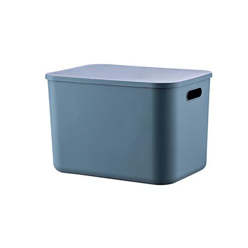 YUMEIGE Caja de Almacenamiento de cosméticos Cajas de Almacenamiento de Escritorio, Cestas de Almacenamiento cosmético, Juguetes a Prueba de Polvo y Sundries Clasificación de Cajas de Almacenamiento,