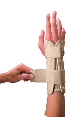 Mueller Wrist Stabilizer, Beige, Small/Medium