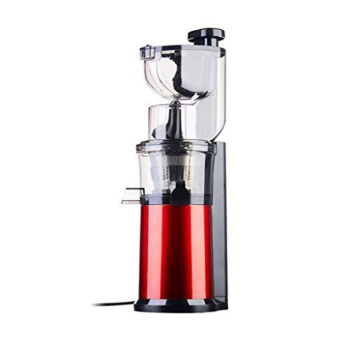 Qinmo Exprimidoras, soportar el frío Juicer de la prensa de la máquina extractora cafetera eléctrica jugos vertical de las frutas, verduras, verdes, hierba de trigo Más con la taza grande jugos Tazón