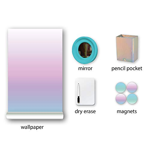 Wall Pops WPL3132 Locker Kit, Pastel
