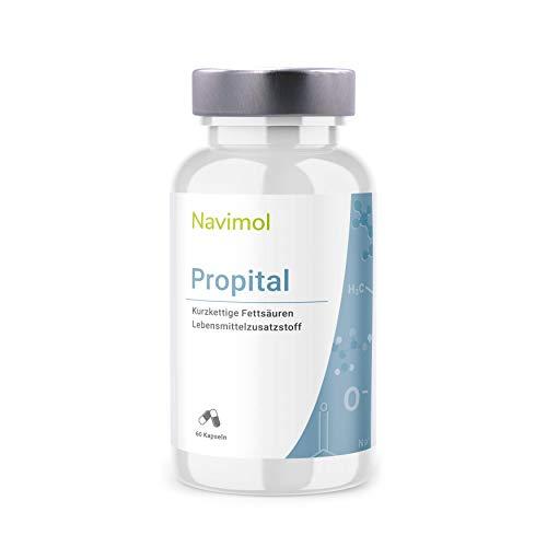 Propital - 60 Kapseln | 500mg Natriumpropionat pro Kapsel | Das reine Salz der Propionsäure | Lebensmittelzusatzstoff | Qualität aus Deutschland