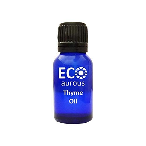 Thyme Oil 100% Natural, Organic, Vegas & Cruelty Free Thyme Essential Oil by Eco Aurous (15 ml)