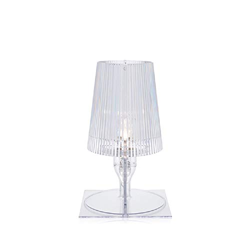 Kartell Take, Table Lamp, Glasklar