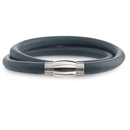 Boccia Damen-Armband Titanium Titan Leder 40 cm - 0395-0540