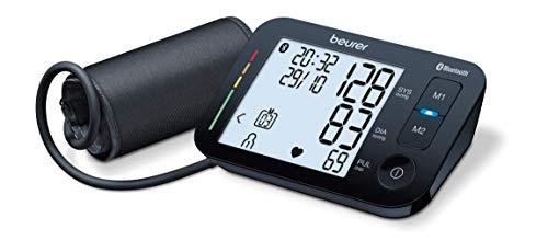 Beurer BM 54 Misuratore di Pressione da Braccio, Connessione Bluetooth e Display...
