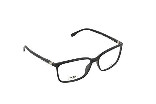 Hugo Boss Herren BOSS 0679 D28 56 Sonnenbrille, Schwarz (Shiny Black)