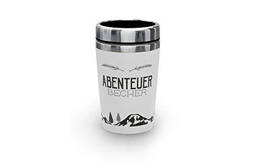 Artikel für Globetrotter/Geschenke, Anzahl:2er Set, Auswahl:Thermo Becher to Go Abenteuer