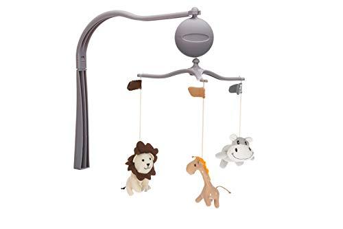 Fillikid Spieluhr-Mobile & Windel Blaubaer | Kinderbett-Mobile | Babymobile mit Halter | Arm Halterung für hängenden Spielzeug und Puppen für Babybett, Wiege, Stubenwagen | für Babys von 0-5 Monaten