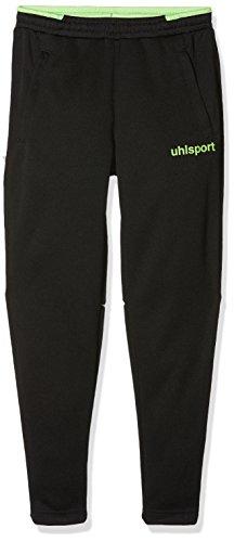 Uhlsport - Liga 2.0 Technical - Pantalon - Mixte Enfants - Multicolore (Noir/vert) - Taille:162 cm (S)