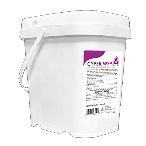 Control Solutions- Cyper WSP- Insecticide - 1 lb