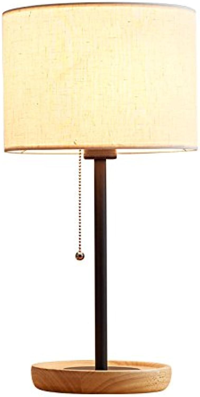 Nordic Tischlampe Schlafzimmer Nachttischlampe Moderne Einfache Kreative Led Augenschutz Schreibtisch Warme Dekorative Log Geschenke