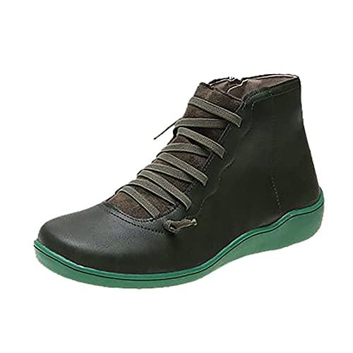 Basket à Talon Compensé Plateforme pour Femme Sneakers Confortable Basket en Toile Montante Femme Classique Casuel Lacet Plateforme Chaussure Montantes Fille Mode Confortables Compensee Sneakers