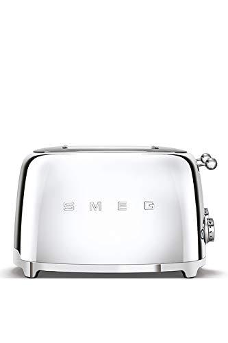 Smeg TSF03SSEU Toaster, 2000, Metall, Chrome