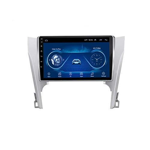 IF.HLMF Car Radio Stereo 10.1 Pulgadas MP5 Player Android 8.1 Compatible con Toyota Camry (2012-2014), GPS 2.5D Pantalla táctil, BT, WiFi, Mirror Link, Sintonizador de Radio (RAM 1G + ROM 16G)